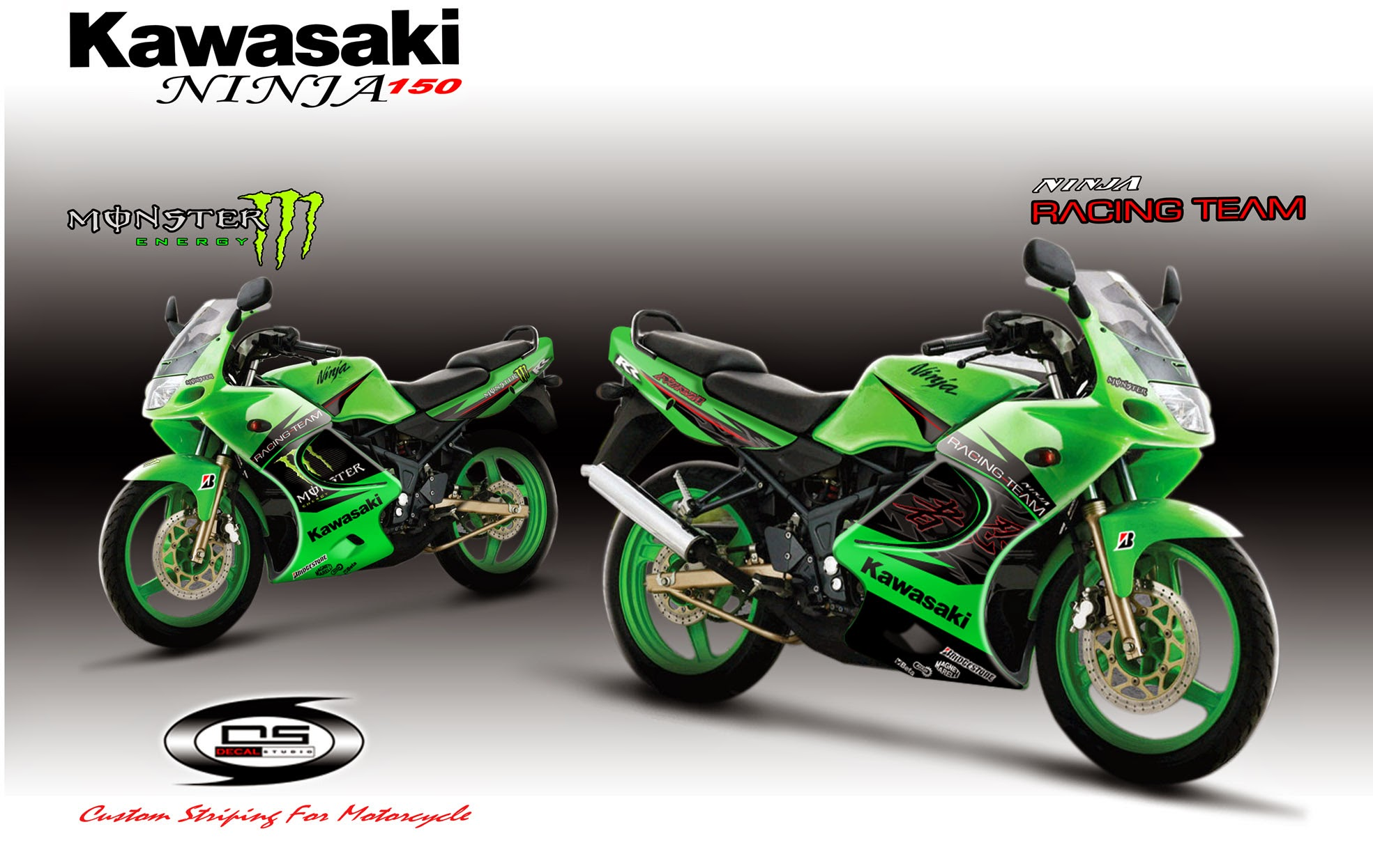 Kawasaki Ninja 150 Rr Modifikasi Drag