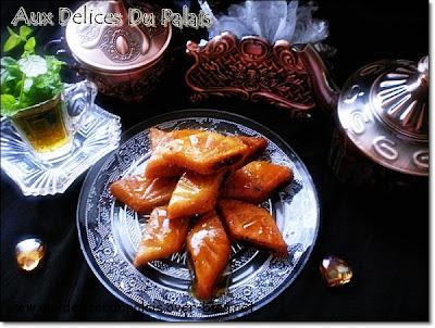 Makrouts aux dattes - recette indexée dans les Desserts