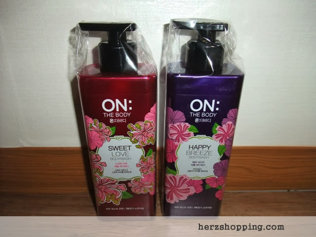 ON Body Wash Korea