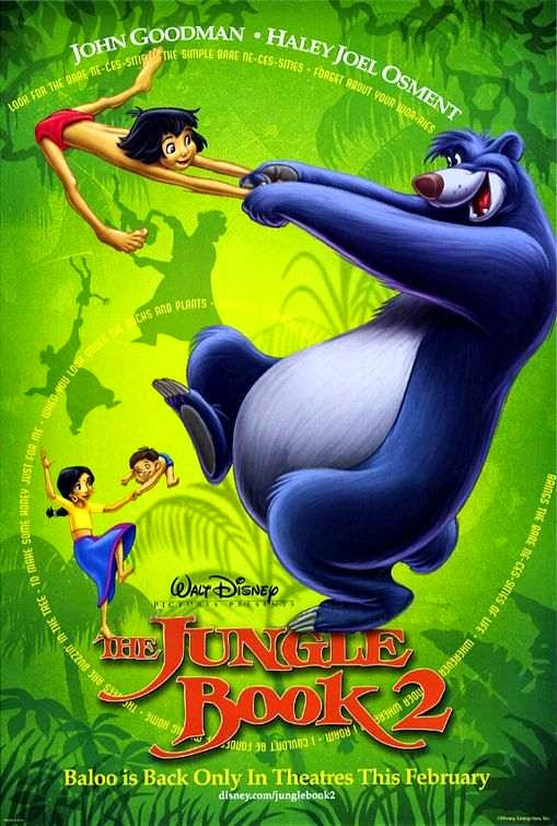 Poster Of The Jungle Book 2 (2003) Full Movie Hindi Dubbed Free Download Watch Online At Alldownloads4u.Com