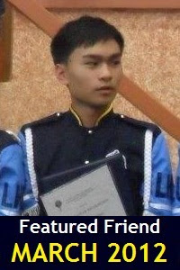 Featured Friend of March 2012