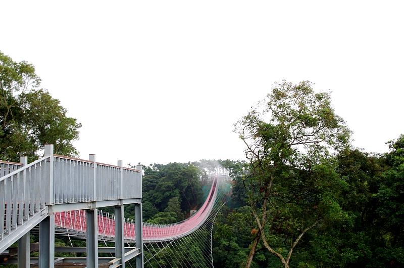 台灣最長的吊橋 ~ 微笑天梯