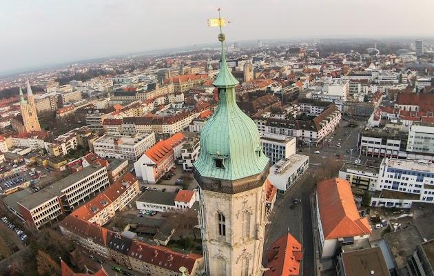 Rundflug von Hildesheim , über Braunschweig.. gute Idee als romantisches Erlebnis für ein Hochzeitspaar