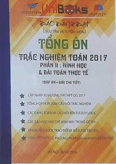 Tổng ôn trắc nghiệm Toán 2017 - Đào Đăng Đạt (Phần 2: Hình học và bài toán thực tế)