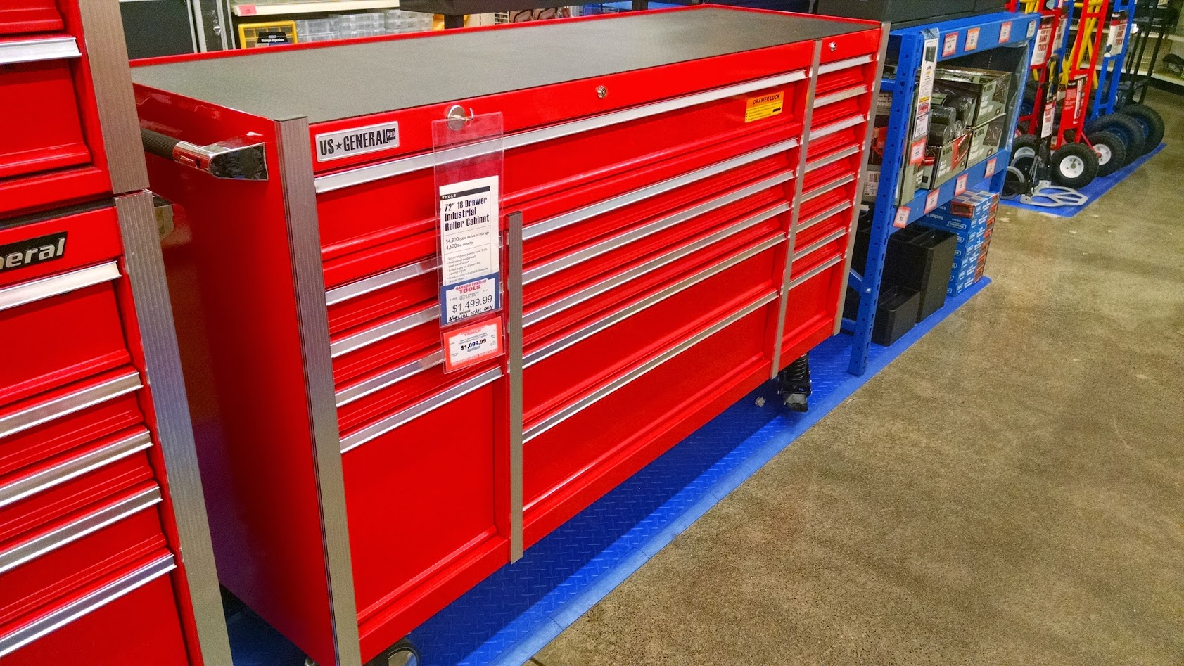 "harbor freight 72"" roller cabinet [archive] - the garage"