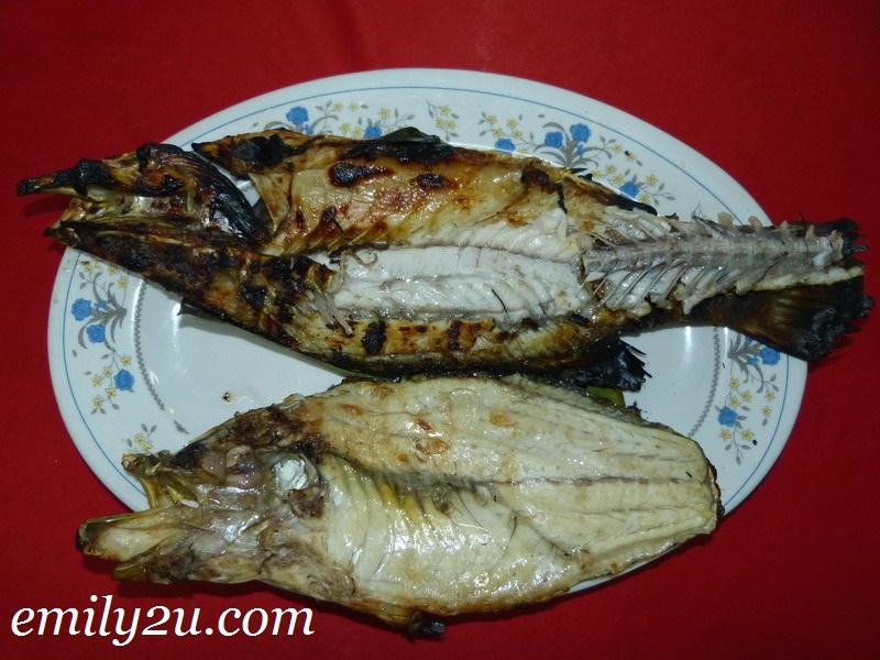 ikan bakar Melaka