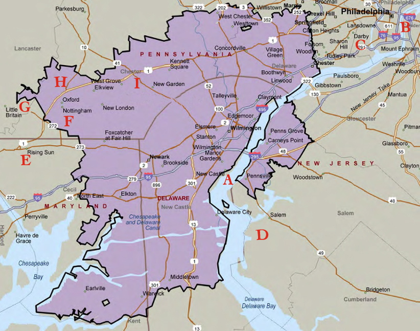 Susquehanna River Map 13 Colonies Below is a modern map of the