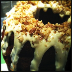 airy fairy cupcakes~: Road trip sustenance...banana almond bundt cake