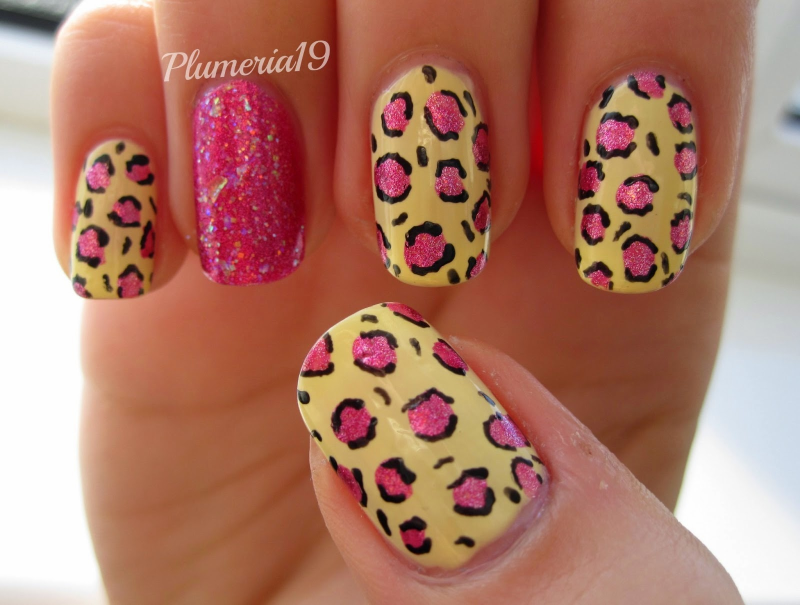 animal print nail art tumblr
