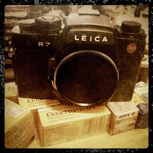 Leica R7初陣