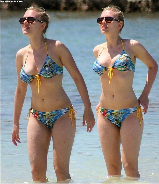 SCARLETT JOHANSSON HACKED ACCOUNT VICTIM HOT SEXY BIKINI PICS PHOTOS