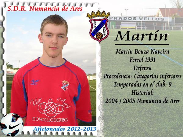 ADR Numancia de Ares. Martín.