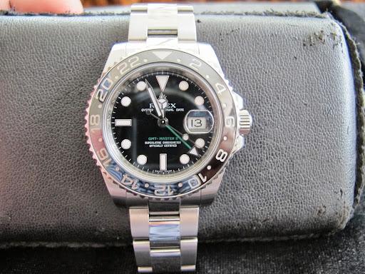 Bán đồng hồ rolex GMT Master II 116710 – Inox – size 40mm – Vành ceramic – Automatic