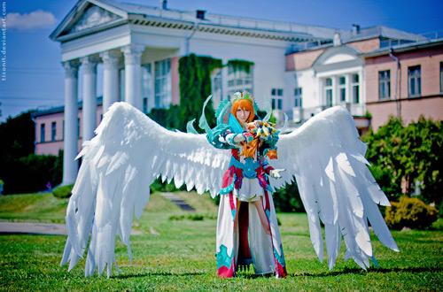 """Ngắm người mẫu Nga trong lốt """"thiên thần"""" của Aion 6"""