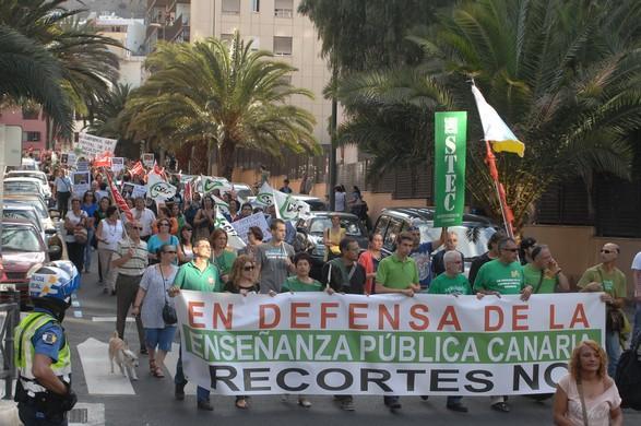Manifestación Unitaria Gran Canaria (22-V-2012)