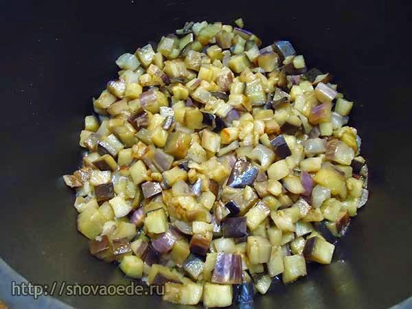 как приготовить икру из баклажанов