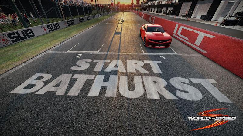 Ngắm trường đua Bathurst trong World of Speed 3