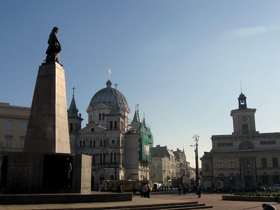 Łódź - Piotrkowska plac wolności