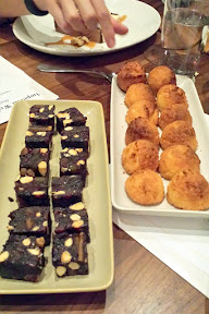 NFCA GREAT Kitchens Gluten-Free Dinner at Imperial, macaroons plus little mini date and almond cakes