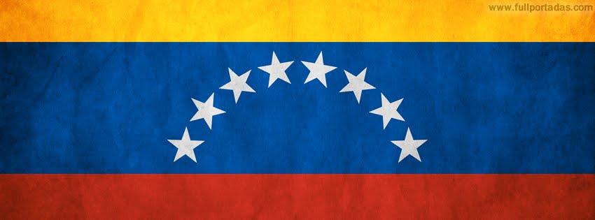Portadas para facebook Bandera venezuela