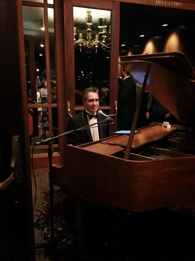Wedding, Atheletic Club, Los Angeles, Pianist