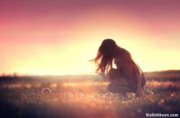 Thơ tâm trạng buồn chán vu vơ về tình yêu và cuộc sống