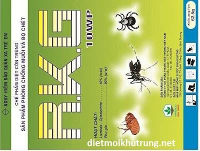 Thuốc diệt côn trùng RKG 10WP