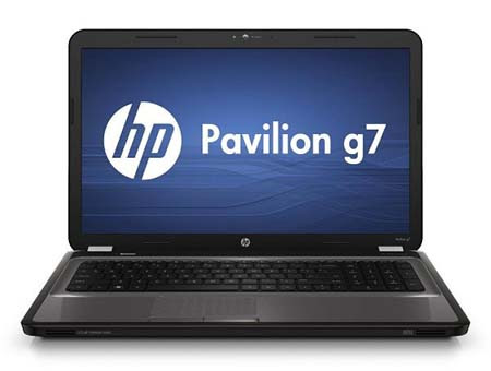 HP Pavilion g7-1200 Specifications