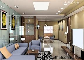 Mẫu thiết kế nội thất phòng khách 324