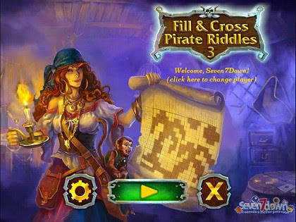 Fill and Cross Pirates Riddles 3