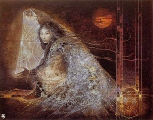 Spider Woman Native American Mother Of All