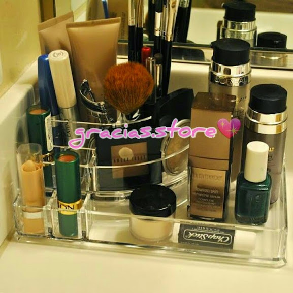 acrylic makeup organizer jewellery organizer storage box with drawers countertop display with 4 drawers countertop display original
