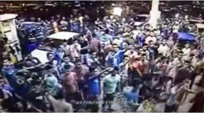 VIDEO Pergaduhan Besar Gara Gara Mercun MEMALUKAN