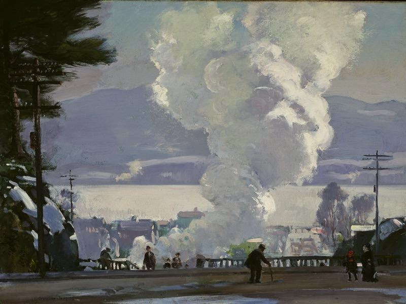 Gifford Beal - The Puff of Smoke