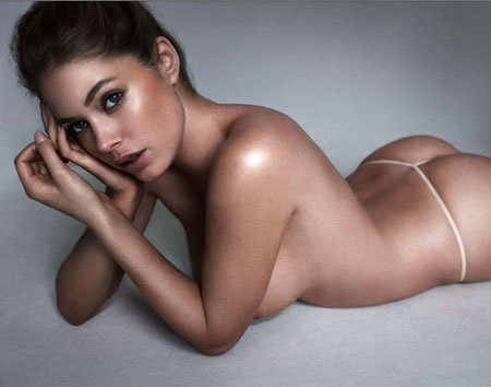 Doutzen Kroes Wears Nothing But String(9pics)  #Best:celebrities,Best,milf