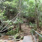 Bridge below Marguerite Cascades (93241)