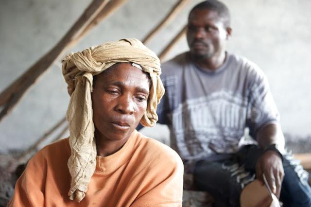 impoverished woman