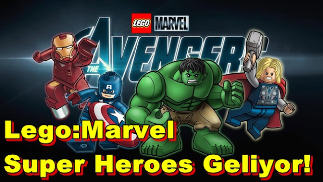 Lego:Marvel Super Heroes Geliyor!