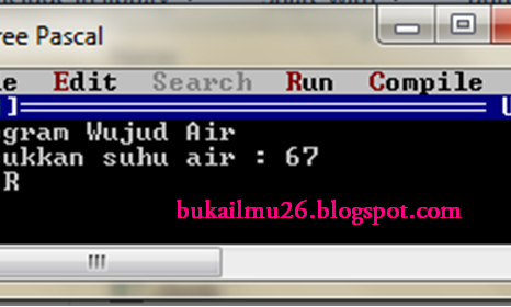 Pascal - Program Wujud Air