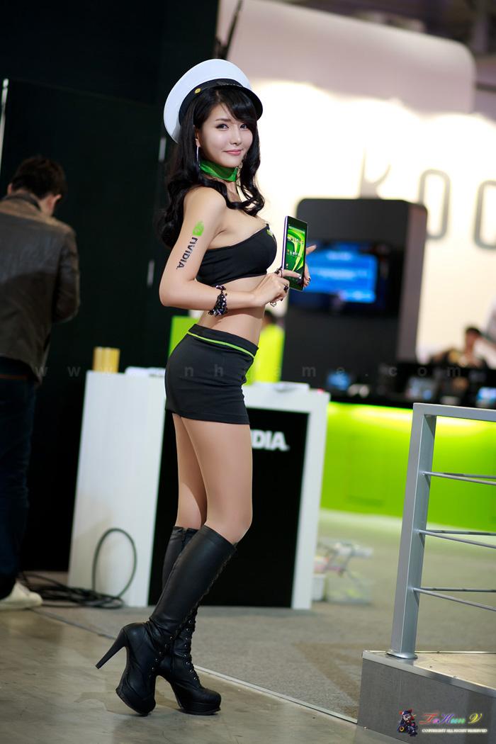 Showgirl G-star 2012: Cha Sun Hwa - Ảnh 1