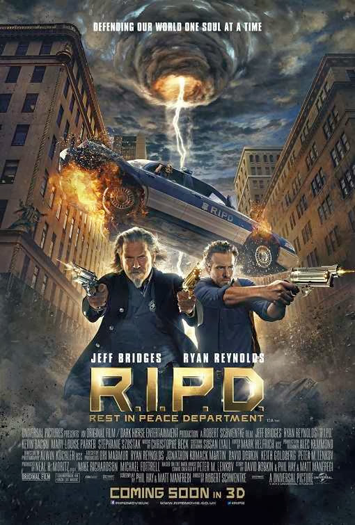 Poster Of English Movie R.I.P.D. (2013) Free Download Full New Hollywood Movie Watch Online At Alldownloads4u.Com