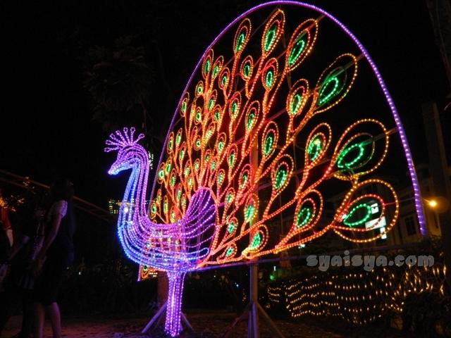 lampu di i-city shah alam selangor malaysia