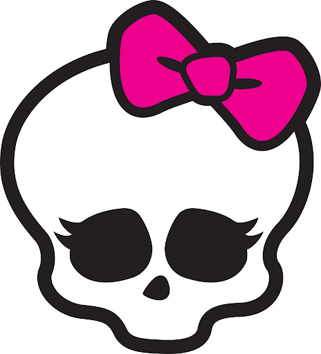 Monster High - Calaveras de cada personaje y logotipos