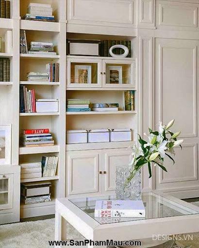 Các mẫu thiết kế nội thất phòng đọc sách P1-7