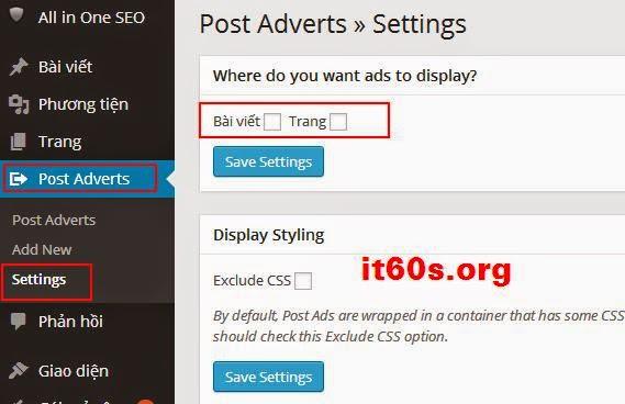 Cách nhúng quảng cáo vào bài viết Wordpress đơn giản 3
