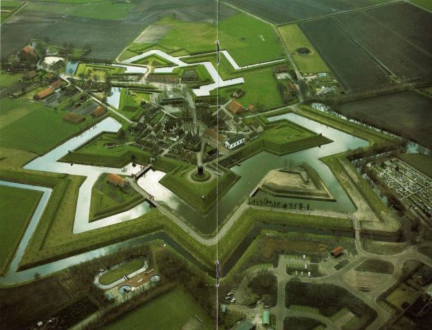 Ook Bourtange (Groningen) had een schans
