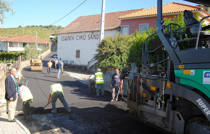 Câmara de Lamego moderniza rede viária municipal