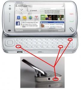 Жесткая перезагрузка Nokia N97