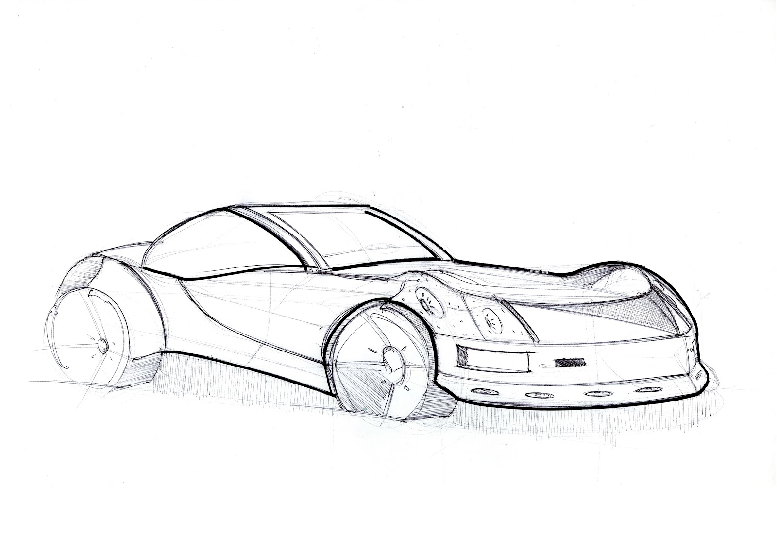 Sketches N\' Things: Car Sketches