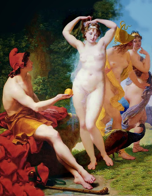 Jean-Baptiste Regnault - The Judgement of Paris